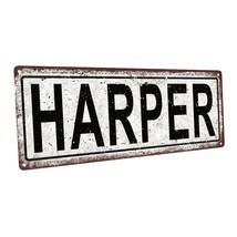 Harper Metal Sign; Wall Decor for Kids Room or Nursery - $19.79+