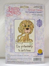 Janlynn Precious Moments Fur-Ever Friends Lion Counted Cross Stitch Kit - $9.45
