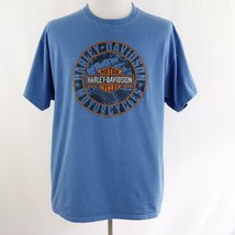 Harley Davidson Low Country Charleston SC Blue Graphic T Shirt Mens Sz XL - $26.03
