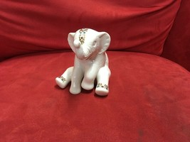 Lenox China Jewels ELEPHANT Calf 1992 Figurine - $49.00