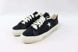 Vtg 70s New Converse One Star Mens Size 8 Suede Low Sneakers Blue Made I... - $987.97