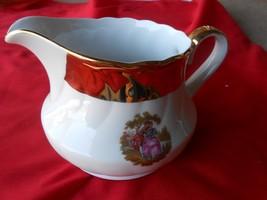"""Rare Vintage Winterling Bavaria """"Roslau""""22kt Gold-Victorian Design-CREAMER - $12.19"""