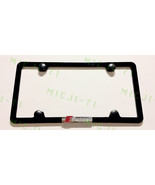 3D SLine Audi Quattro 4 Holes Stainless Steel License Plate Frame Rust Free W/ B - $26.99
