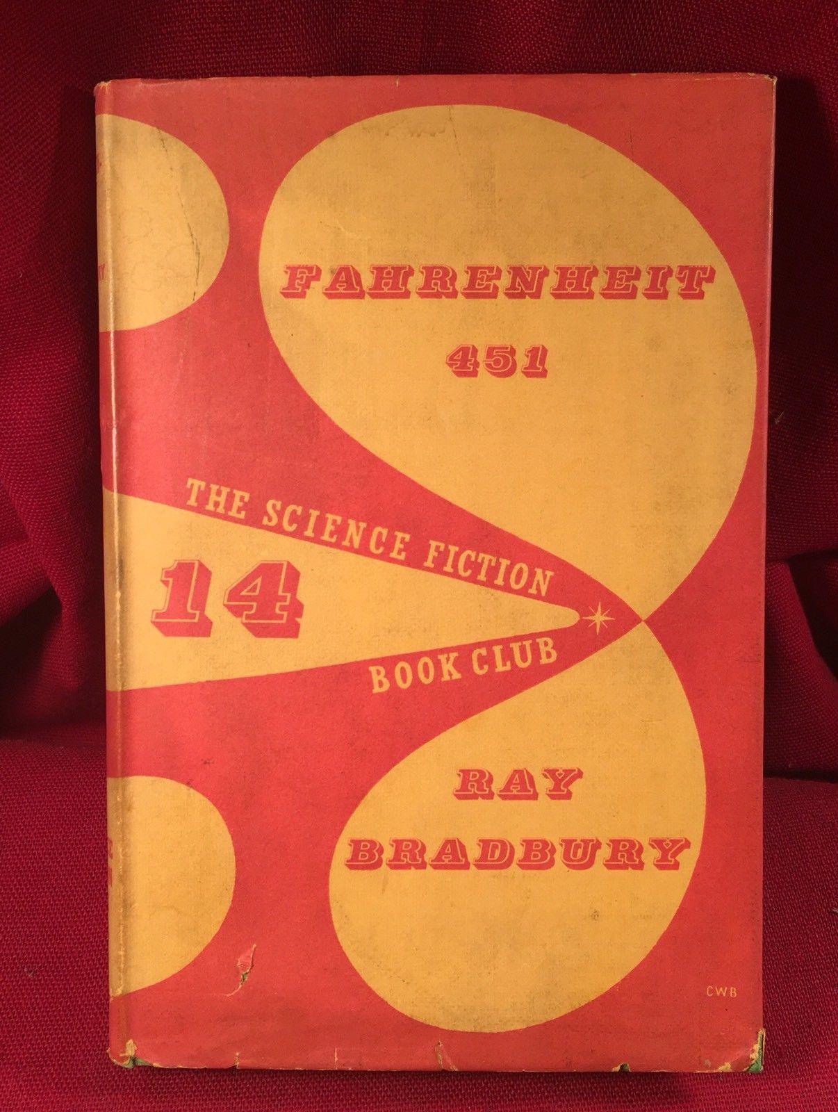 Ray Bradbury - Fahrenheit 451 - Signed - Early  -