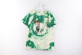 NBA Mens Medium Boston Celtics Tatum Acid Wash Spell Out Basketball Shir... - $34.60