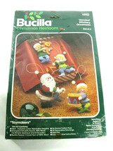 Vintage Bucilla #48989 Jeweled Holiday Ornaments Christmas Heirloom Stit... - $19.92