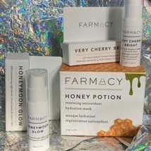 NIB FARMACY Set With Honey Potion Renewal Antioxidant Hydration Mask Full Size image 1