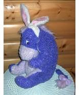 "BIG SALE BIG PLUSH Winnie Pooh Disney EEYORE Lavender Bunny 18"" WEE CARE - $12.99"
