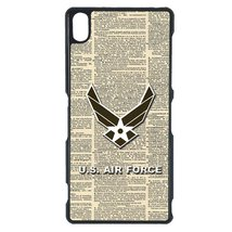 Air Force Sony Z case Customized Premium plastic phone case, design #2 - $12.86