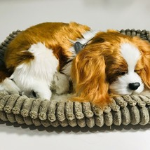 Perfect Petzz Puppies Soft Cavalier King Charles Breathing Snoring Pet B... - $29.68