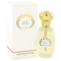 Quel Amour by Annick Goutal for Women Eau De Parfum Spray 3.4 oz - $124.97