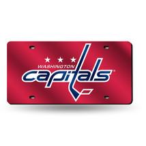 NHL Washington Capitals Laser License Plate Tag - Red - $29.39