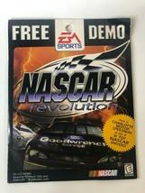 Nascar Revolution EA Sports Free Demo Racing Game PC 1999 Vintage Rare  - $14.00