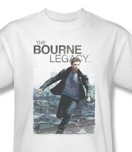 Bourne Legacy T-shirt Jason Bourne cotton white graphic movie white tee UNI709 image 1