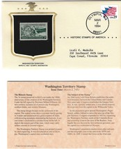 1953 Washington Territory Stamp, Historic Stamps of America 1994, 3 Cent... - $2.75