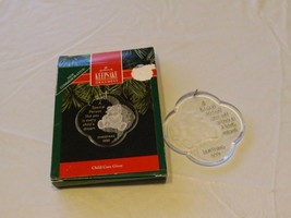 RARE ornament Hallmark Christmas A special Person like you is every Chil... - $10.68
