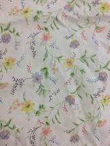 "Ikea Floral Single Duvet Cover 79 x 53"" Basic Boho Classic Cottage Home ... - $21.74"