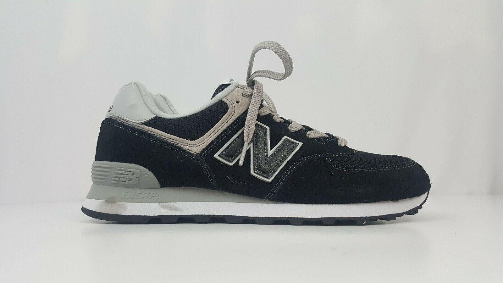 New Balance Men's Running Sneakers 574 Classics Black ML574EGK Size 9.5 nwot
