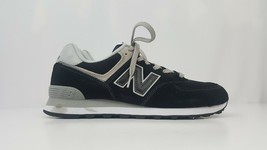 New Balance Men's Running Sneakers 574 Classics Black ML574EGK Size 9.5 ... - $48.37