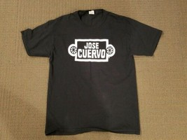 Jose Cuervo Tequila Black Fruit of the Loom T-Shirt - Men's Large  - $13.09