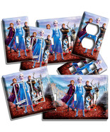 FROZEN 2 ANNA ELSA KRISTOFF OLAF SVEN LIGHT SWITCH OUTLET WALL PLATES RO... - $9.99+