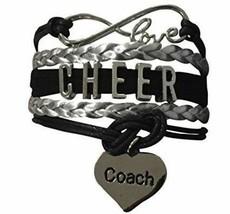 Cheer Coach Charm Bracelet- Coach Cheerleading Bracelet for Women, Cheer Jewelry - $9.99