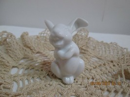 Rosenthal White Bunny Porcelain Tiny Collectible - $16.83