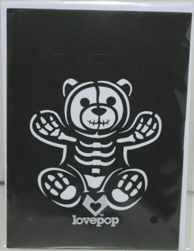 Lovepop LP1593 Halloween Bear Pop Up Card White Envelope Cellophane Wrap