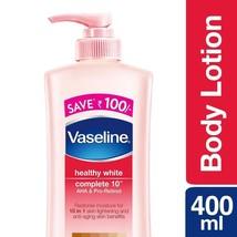 Vaseline Healthy White Complete 10 Lightening Body Lotion 400ml Moisturiser - $22.99