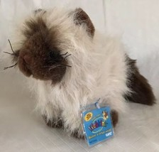 "Webkinz 8"" Himalayan Ganz, NEW SEALED Code Fluffy Kitty Cat Plush Toy - $14.84"