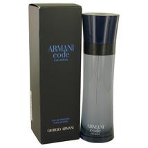 Armani Code Colonia by Giorgio Armani Eau De Toilette Spray 4.3 oz for Men - $86.94