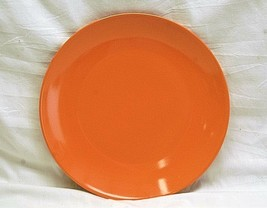 "Classic Royal Norfolk 10-5/8"" Orange Dinner Plate Microwave Dishwasher Safe - $19.79"