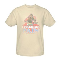 Mr. T T-shirt I predict pain clubber lang retro Rocky 80s movie tee MGM114 image 1