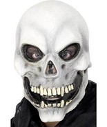 SKULL OVERHEAD MASK, HALLOWEEN FANCY DRESS ACCESSORIES, ONE SIZE, UNISEX #CA - $19.17