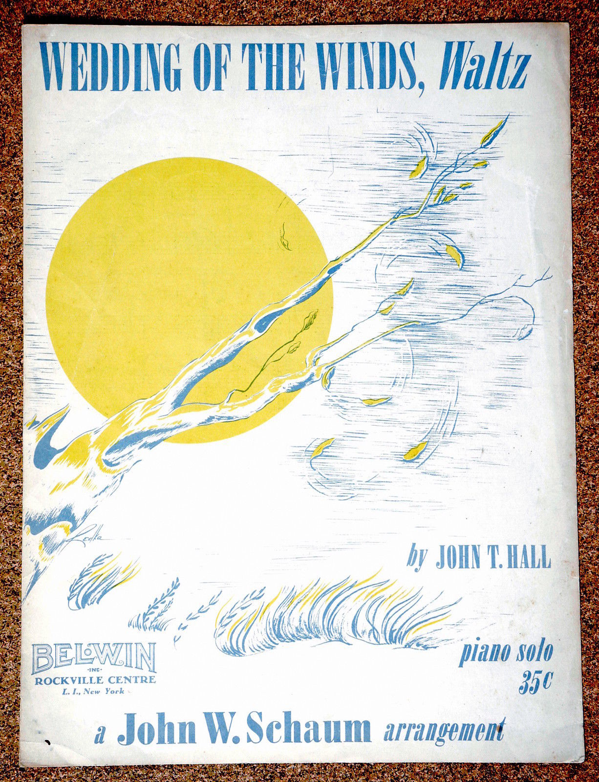 Primary image for Weddings of the Winds , Waltz 1953 By John T. Hall