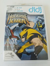 Wolverine and the X-Men LeapFrog Didj Custom Learning Game - $23.99