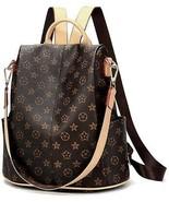 Olyphy Designer Waterproof Leather Nylon Backpack Purse Women, Fashion ... - £49.25 GBP