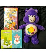 Care Bears Lot of 3 VHS plus Plush Harmony Care Bear Includes CB The Movie - $24.74