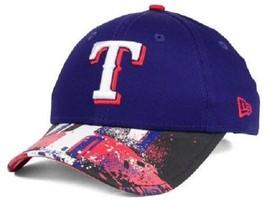 Texas Rangers MLB New Era 9Twenty Splatter Snapback Hat - $14.80