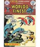 World's Finest Comic Book #222, DC Comics 1974 VERY FINE+ - $16.39