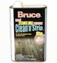 Bruce Clean N Strip Wood Cleaner Wax Remover Urethane Finish Hardwood Fl... - $55.32