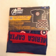 Size 8 Marvel Captain America underwear set cool craft blue boys new - $14.99
