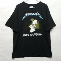 Metallica Metal Up Your Ass Tour T Shirt Sz XL Rock Band Tee 1987 Reprin... - $91.32