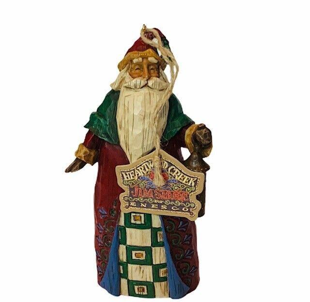 Jim Shore Christmas Ornament Figurine Santa And 50 Similar Items