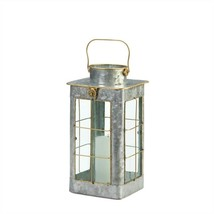 Small Farmhouse Galvanized Candle Lantern - $27.27