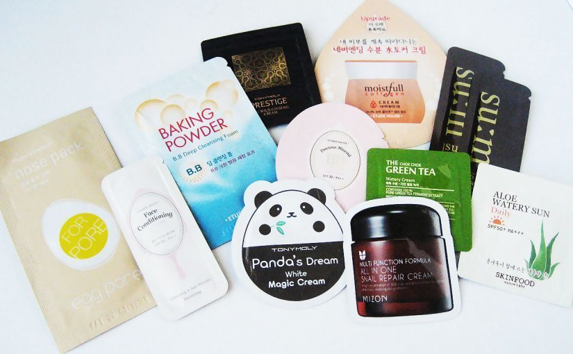 Primary image for Best of Korean K-Beauty Skincare Single Use Samples Bag