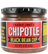 Trader Joe's Chipotle Black Bean Dip NET WT. 12 OZ 340g