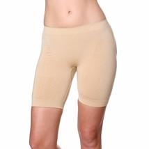 NEW WOMEN'S VALENCIA SHAPEWEAR SLIMMING BUTT LIFTER BOY SHORT BEIGE STYLE #8069 image 2