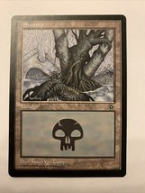MTG Magic The Gathering Card Swamp Land 1998 - $0.98
