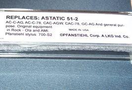 Pfanstiehl P51-2 for JUKEBOX AMI ROCK-OLA CARTRIDGE for Astatic 51-2 Universal image 3